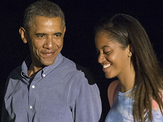 President Obama's Advice to Malia as She Prepares for College: 'Be Open to New Experiences'