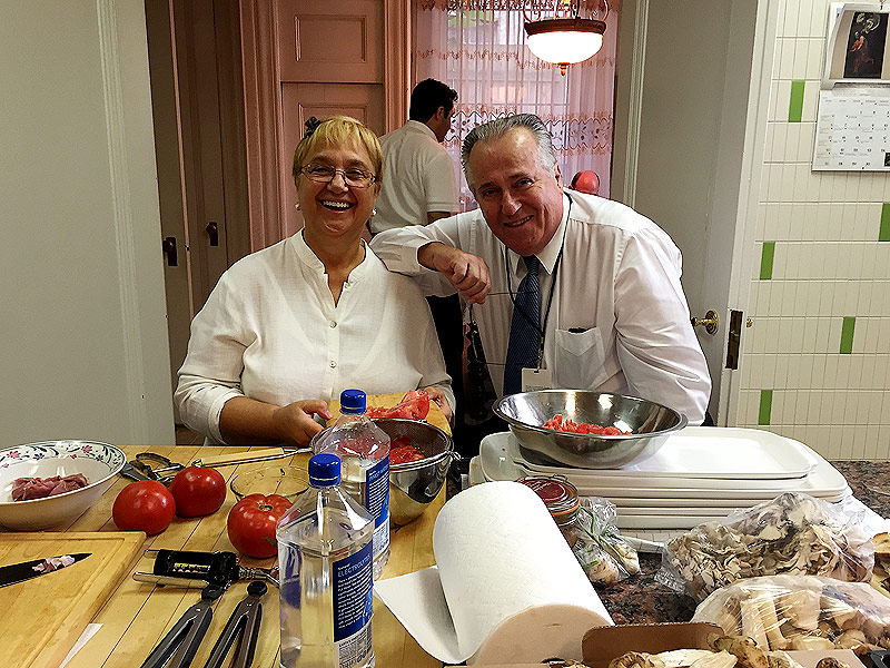 Pope Francis Ate Homecooked Meals by Lidia Bastianich While in ...