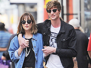 On Again? Dakota Johnson and Matthew Hitt Hold Hands in N.Y.C. – Days After She Says She's Single