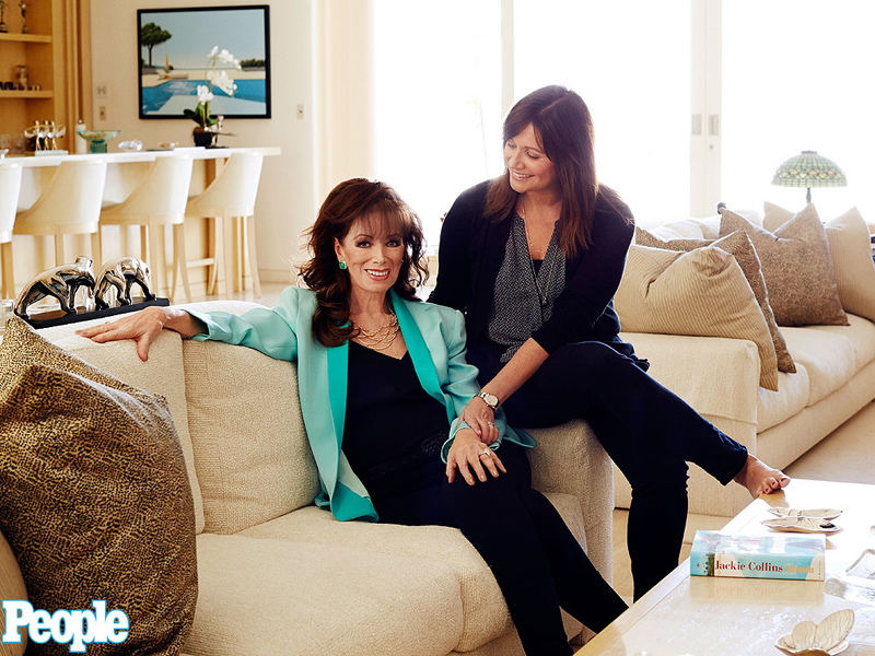 Jackie Collins' Daughters: 'We Are Utterly Heartbroken' Over Loss of Mother Who Was a 'Bit of a Superwoman'| Death, Cancer, Jackie Collins