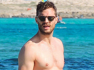 Jamie Dornan Gets Wet and Shirtless in Ibiza: See the Sizzling Snap