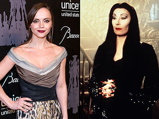 Did Christina Ricci Really Dress Up as Morticia Addams?