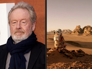 FROM TIME: Director Ridley Scott Knew About Mars Water for Months, Worked Closely With NASA on The Martian