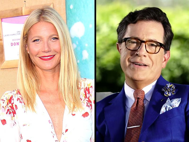 Gwyneth Paltrow Goop Stephen Colbert