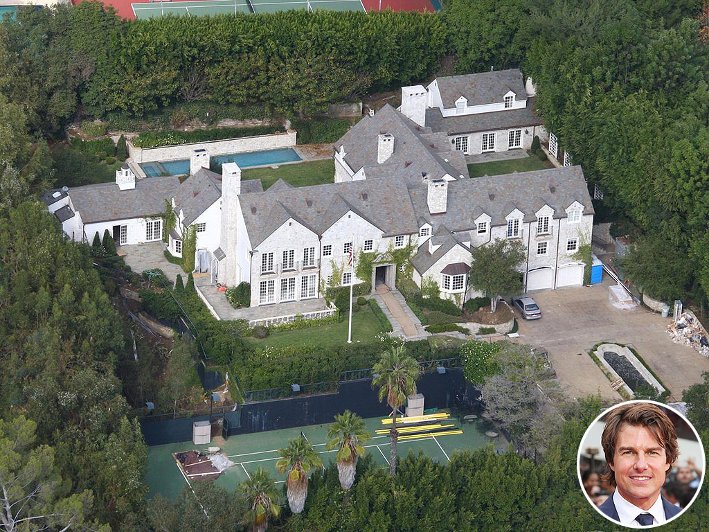 Tom Cruise Is Selling His Beverly Hills Mansion