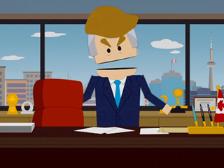 Ouch! Donald Trump Gets the South Park Treatment in Vicious Satire of His Immigration Beliefs