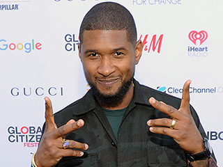 Usher Flashes Gold Ring at Global Citizen Festival Amid Marriage Rumors