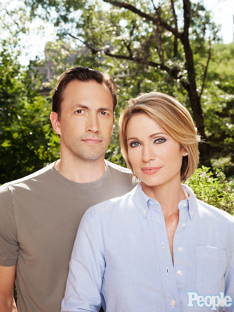 how did amy robach and andrew shue meet