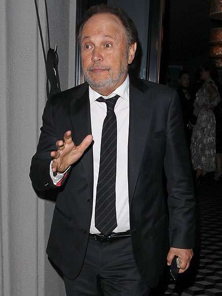 George Clooney At Jerry Weintraub's Memorial 27 September 2015 Billy-crystal-0-435