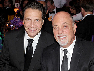 Billy Joel Names Gov. Andrew Cuomo His Baby Girl's Godfather, Celebrates Christening at Big Dinner