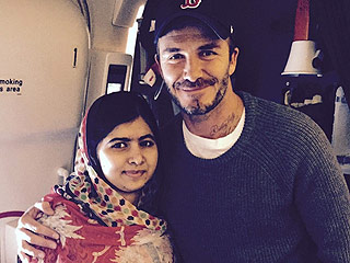 David Beckham Calls Malala Yousafzai a 'True Role Model' While Meeting Her for the Second Time