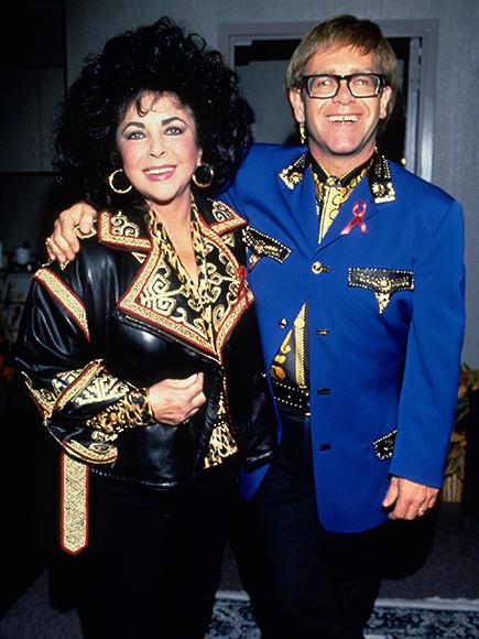 Elton John AIDS Foundation Announces New Grant Awards with Elizabeth Taylor AIDS Foundation  HIV/AIDS, Elizabeth Taylor, Elton John