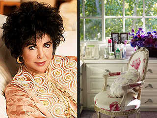 Secrets of Elizabeth Taylor's Amazing Home: Diamonds, Photos of Michael Jackson and a Lipstick Message from Colin Farrell