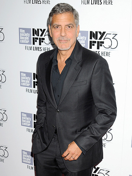 George Clooney On His and Amal's One-Year Anniversary: 'We Sure Are Having Fun'| New York Film Festival, O Brother, Where Art Thou?, Amal Alamuddin, George Clooney