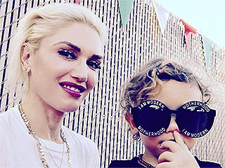 Say Cheese! Gwen Stefani and Kids Enjoy the Tastes of Italy at Hollywood's Feast of San Gennaro