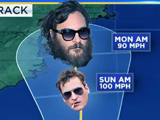 The Internet Pokes Fun at Looming Hurricane Joaquin with Help From – Who Else? – Joaquin Phoenix