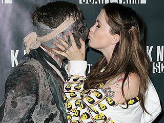 Ireland Baldwin Makes Out with a Zombie