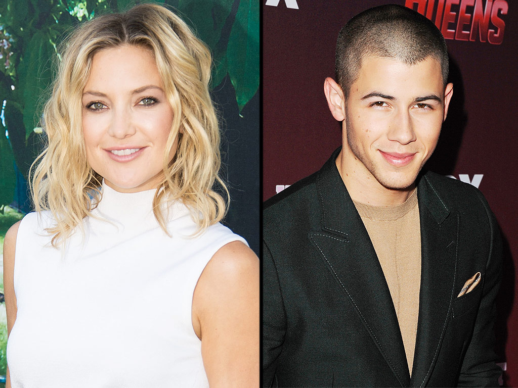 Hudson Jonas an item?: Nick Jonas and Kate Hudson