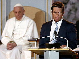 Mark Wahlberg Says Pope Francis Asked Him For Prayer (But Didn't Understand His Ted Joke)