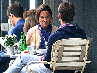 Pippa Middleton Enjoys Lunch with Her Handsome Ex