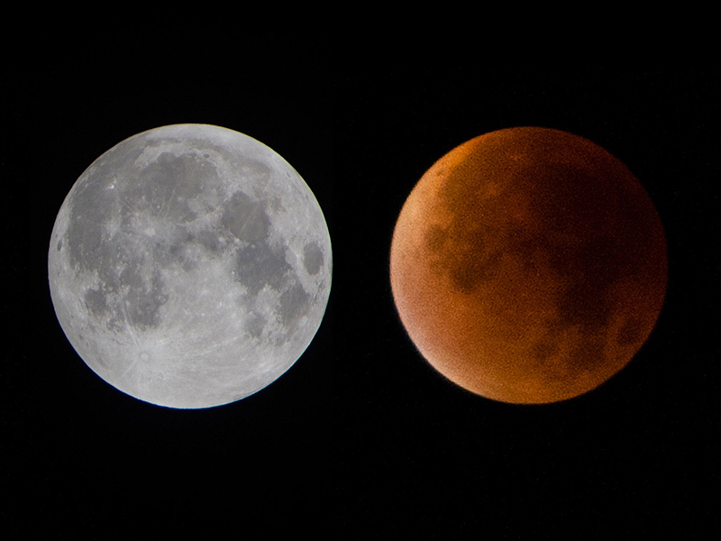Stunning 'Super Blood Moon' Photos : People.com
