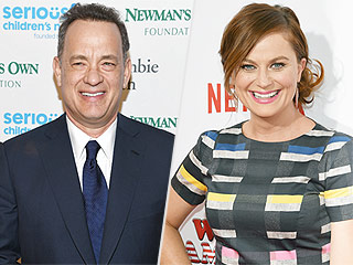 Tom Hanks Jokes About Dating Amy Poehler – Or, as He Calls Her, 'May Epolher'