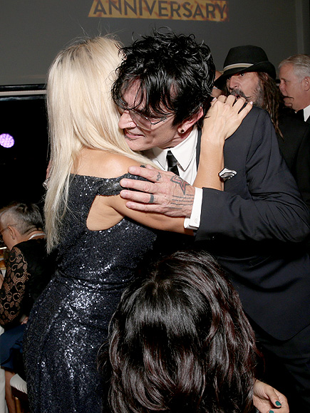 With friendly ex tommy lee after saying he was the love of my life