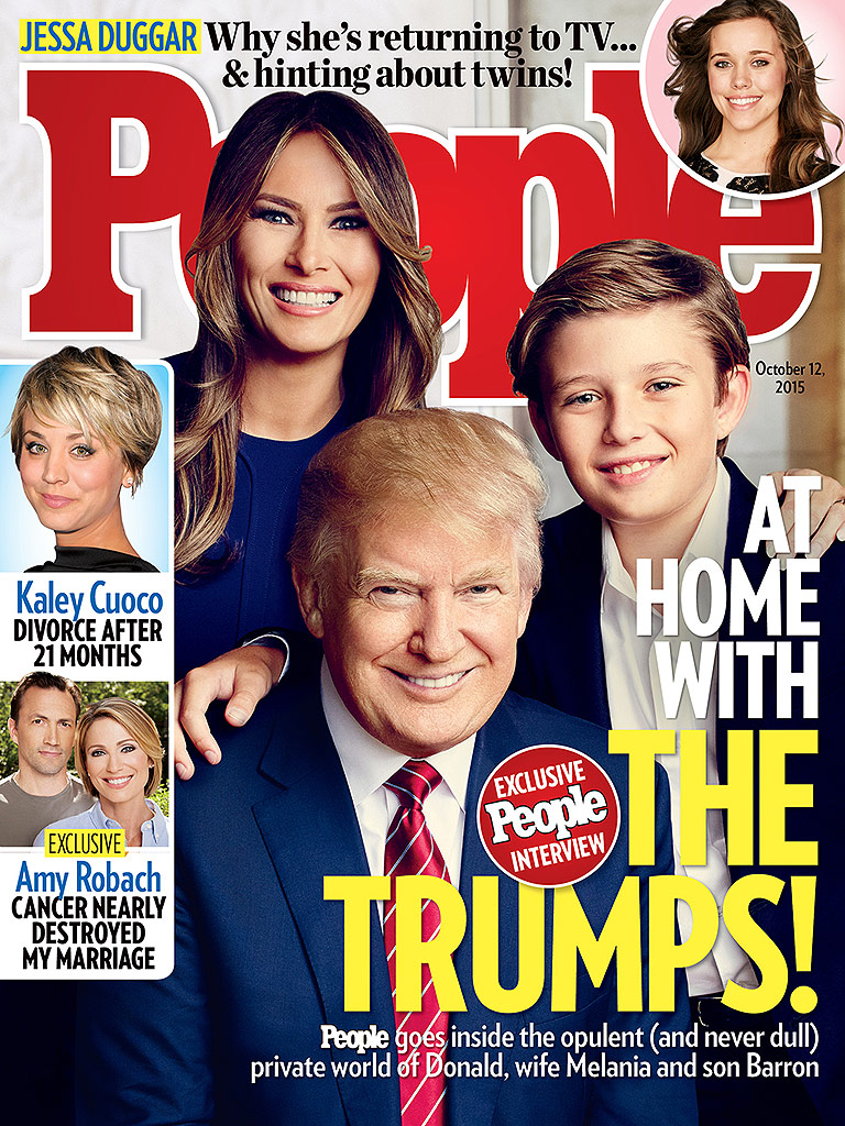 At Home with Donald Trump and His Family| 2016 Presidential Elections, People, Donald Trump, Donald Trump Jr., Ivana Trump, Ivanka Trump