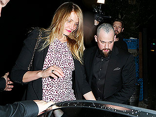 Benji Madden Debuts Intricate New Head Tattoo While Out in L.A. with Cameron Diaz