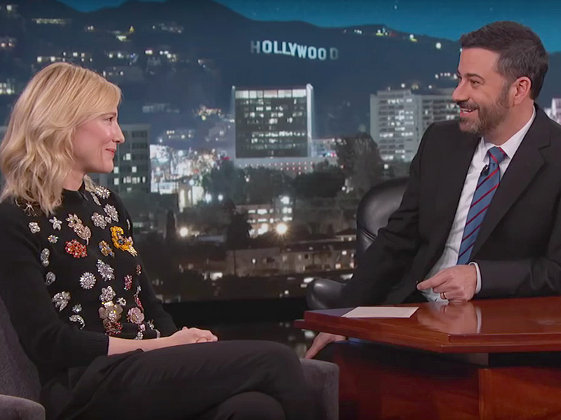 Cate Blanchett Jimmy Kimmel son's name