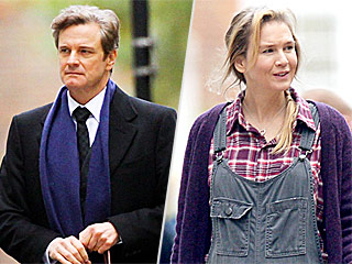 Darcy Has Arrived! Colin Firth Spotted Filming For Upcoming Bridget Jones's Baby