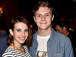 Evan Peters on His Relationship with On-Again, Off-Again Girlfriend Emma Roberts: 'I Just Love Her'