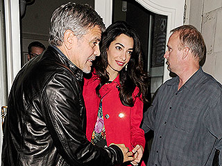 George and Amal Have a Fun and 'Affectionate' Night Out in London with Pals Matt Damon, Cindy Crawford and Rande Gerber