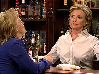 Kate as Hillary, Larry as Bernie and More of Our Favorite Political Impersonations