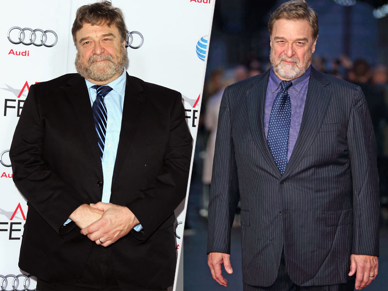 John Goodman Looks Slimmer Than Ever Leaving LAX After the Oscars  Diet & Fitness, Diets, Nutrition, Academy Awards, Oscars 2016, Trumbo, Bodywatch, Celebrity Weight Loss, John Goodman