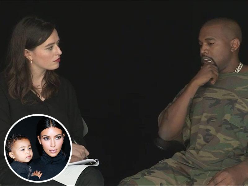 Kanye West SHOWstudio In Camera