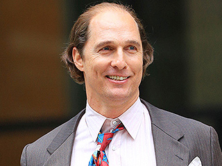 Matthew McConaughey Is Now Paunchy and Balding (But Don't Worry, It's Just for a Movie)