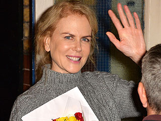 Nicole Kidman Steps Out in London After News Breaks of Daughter Isabella Cruise's London Wedding