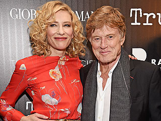 Robert Redford on Working with Cate Blanchett in Truth: 'I Thought She Was Going to Be Good, but She's the Best'
