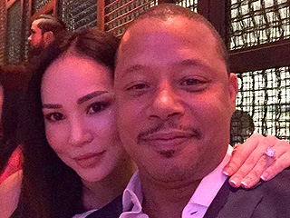 Terrence Howard and Ex-Wife Mira Pak Get Cozy and Sneak Smooches at Charity Event