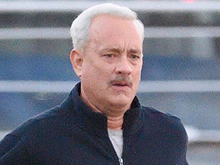 Tom Hanks Pulls a Forrest Gump While Filming New Movie