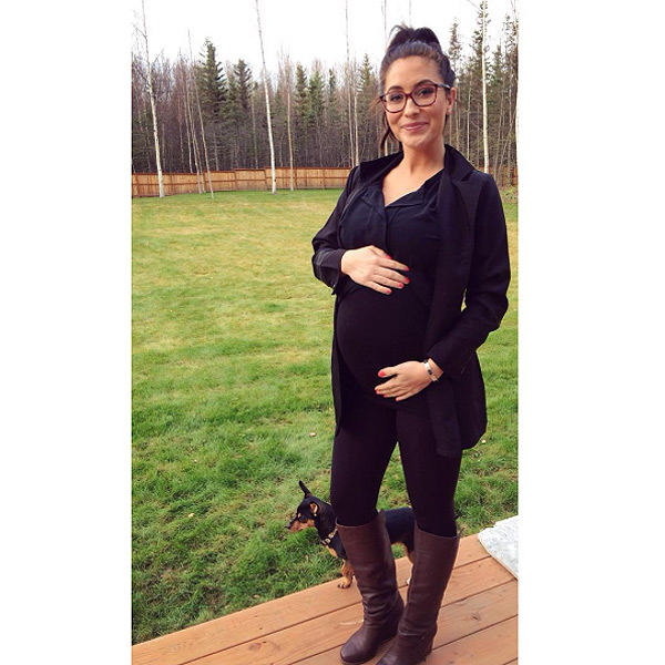 Pregnant bristol palin reveals the sex of her second baby babies