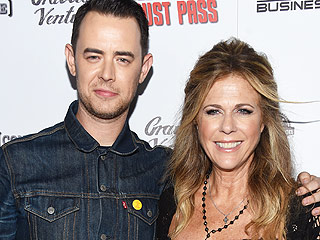Colin Hanks Hangs with Stepmom Rita Wilson at Premiere, Goes Up Against 'Whipper Snapper' Dad Tom at Box Office