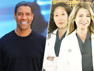 FROM EW: Denzel Washington to Helm Episode of Grey's Anatomy