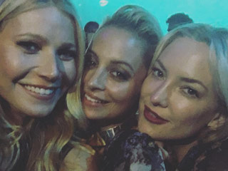 Girls' Night Out! Gwyneth Paltrow, Kate Hudson and Nicole Richie Party It Up at La Mer Event – See the Pics!