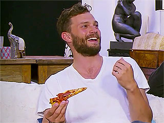 Jamie Dornan Watches TV While Drinking Beer and Eating Pizza, Drives Fans Absolutely Wild