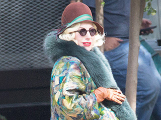 Things That Go Bump in the ... Day? Lady Gaga Films AHS: Hotel Scenes with Fake Pregnancy Belly