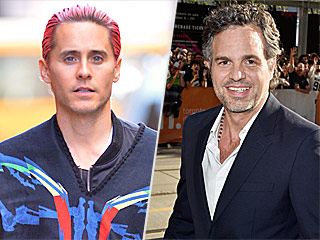 Guess Who! See How Jared Leto and Mark Ruffalo Went Undercover at Comic-Con 2015