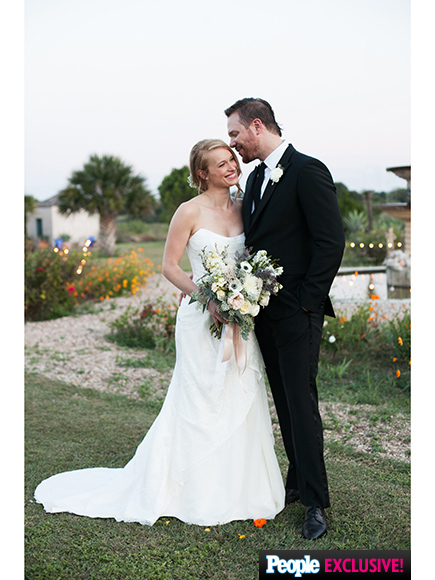 Leven Rambin and Jim Parrack Are Married
