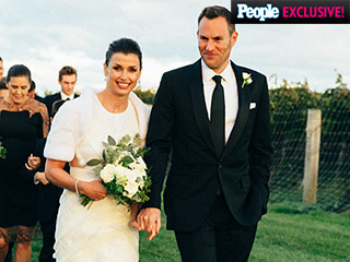 Inside Bridget Moynahan and Andrew Frankel's Elegant, Intimate Surprise Vineyard Wedding